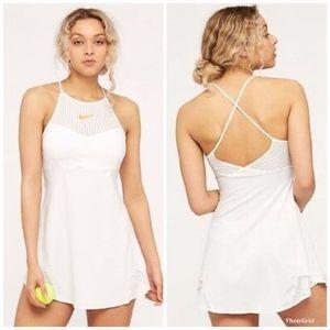 [Nike] Maria Sharapova Slim Fit White Tennis Dress